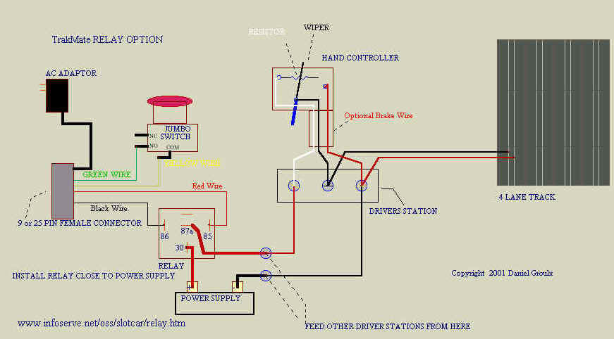 Relay Installation Diagram